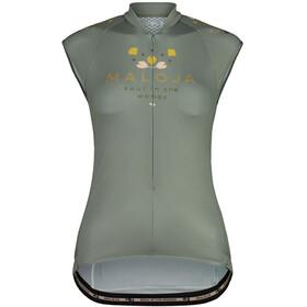 Maloja RubinieM. Top Sleeveless Bike Jersey Women, zielony